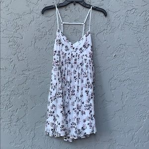 Hollister floral dress small